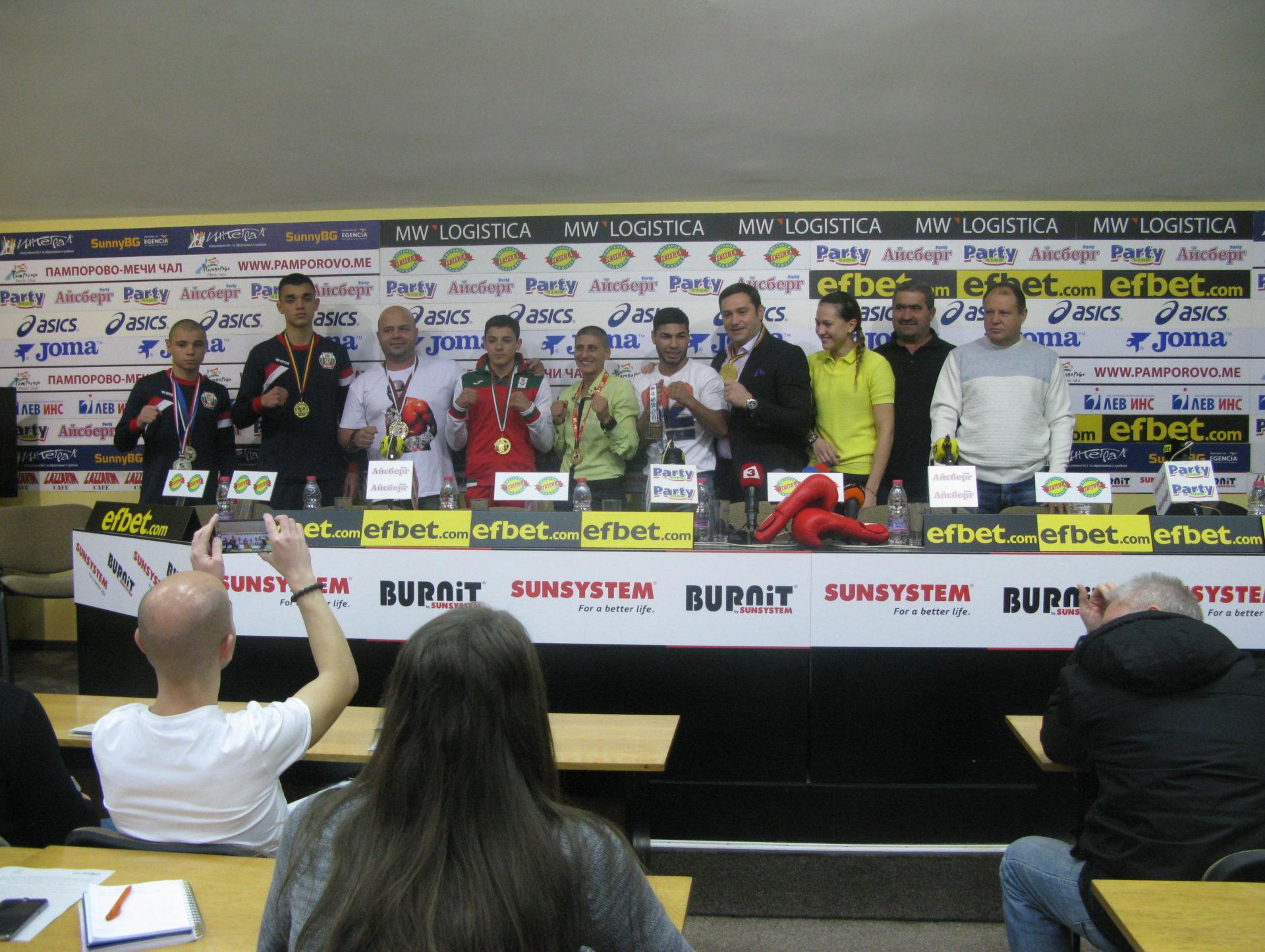 БФ Бокс се похвали с 28 медала от европейски първенства през 2017 г.
