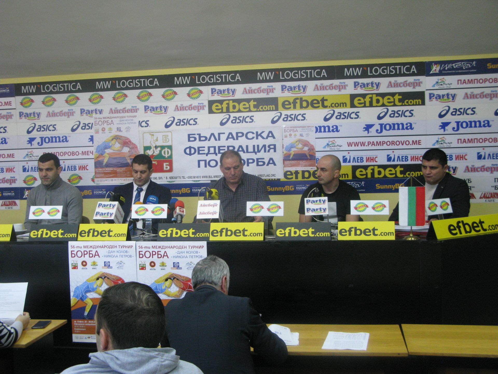 """Най-елитните борци в света ще участват в турнира """"Дан Колов-Никола Петров"""""""