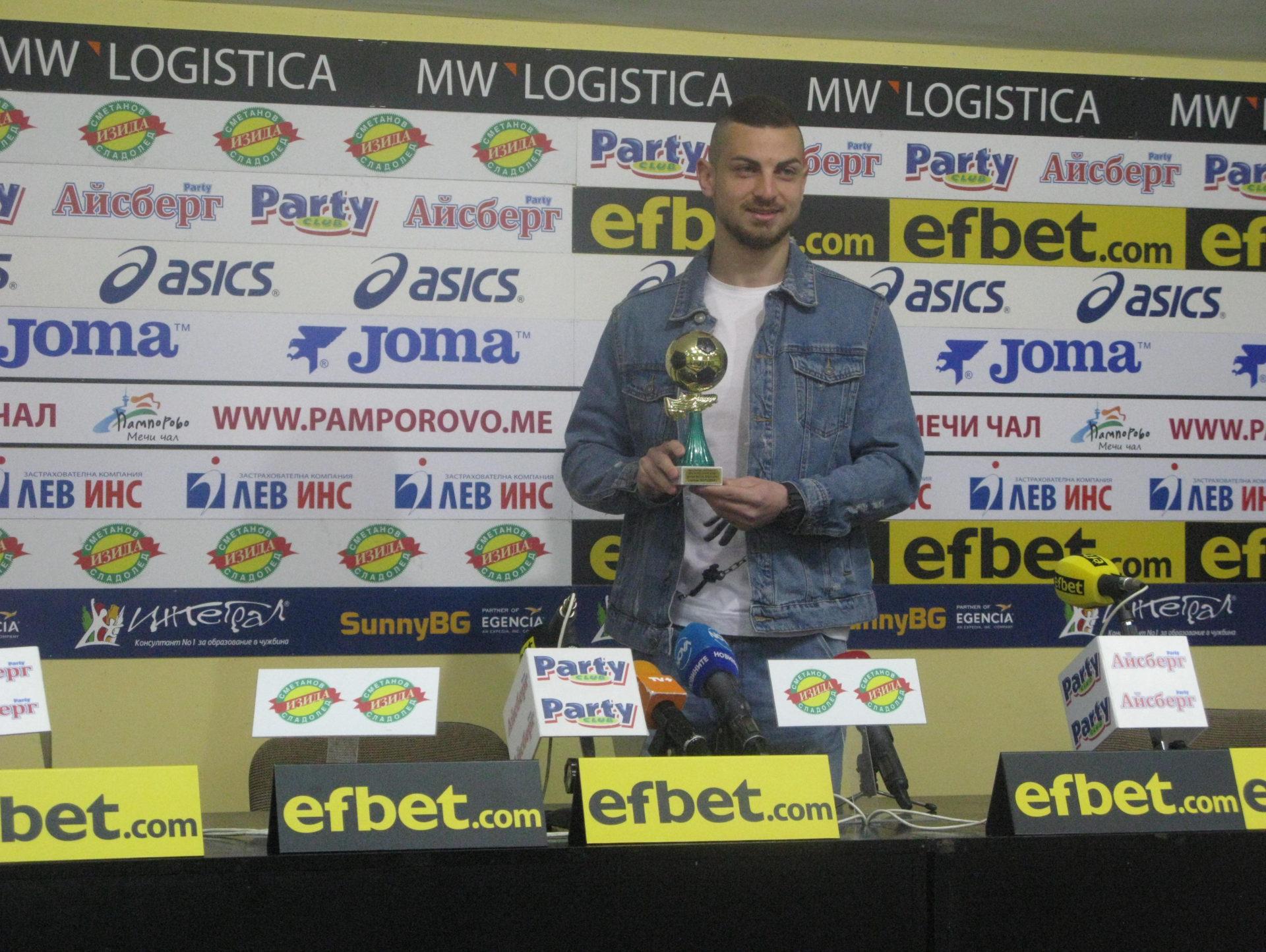 """Милчо Ангелов: """"Ще се борим за Купата на България и за 7-то място в Първа лига, за да играем в Лига Европа"""