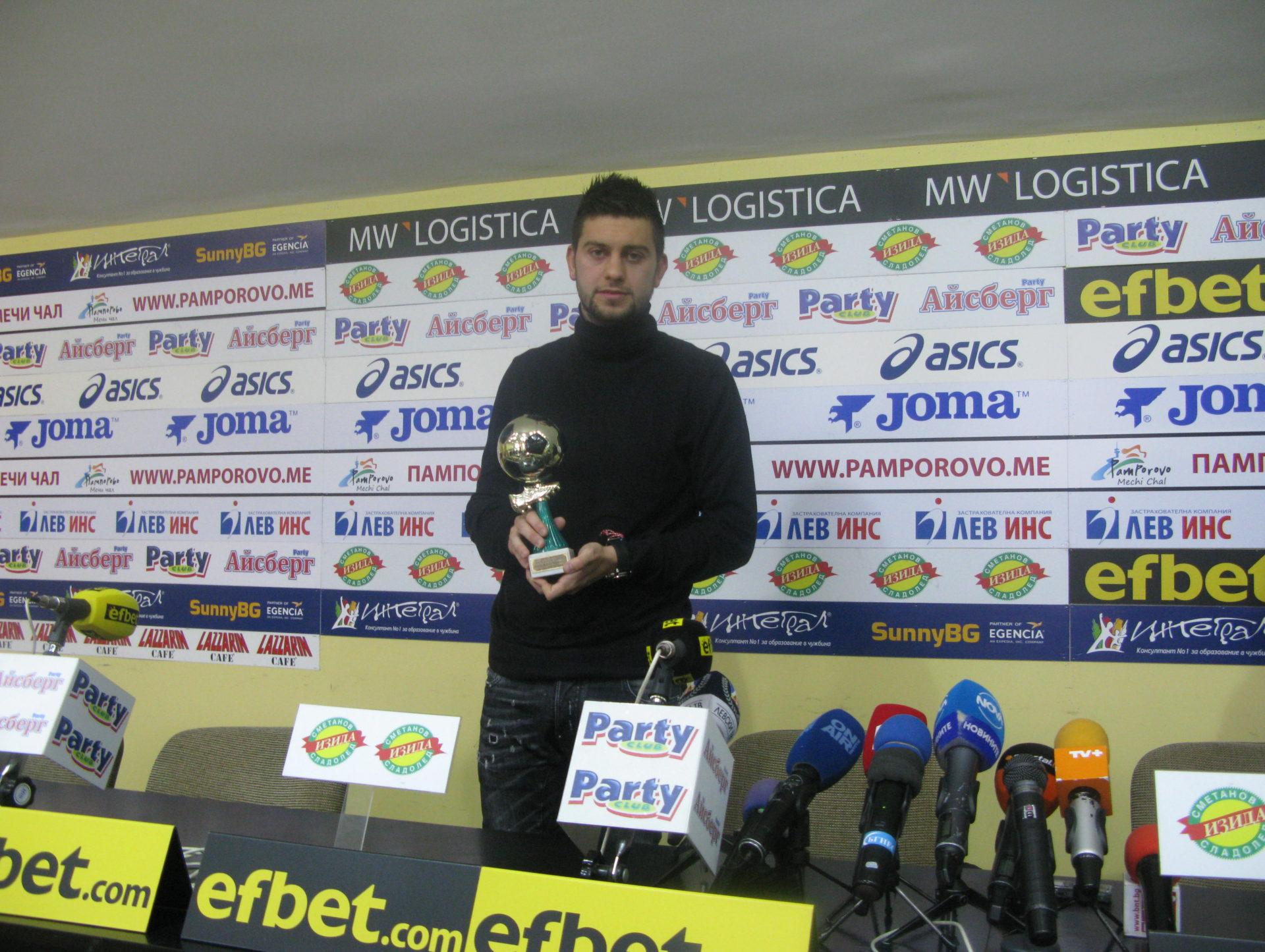 Станислав Костов: Преминаването в Левски е върхът в кариерата ми в България