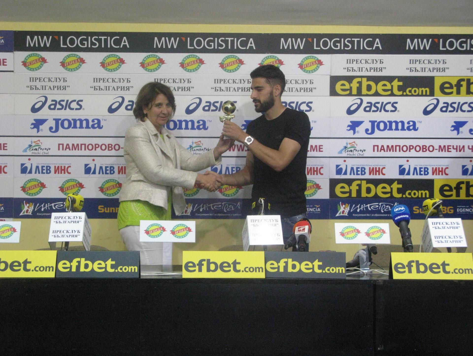 Жорди Гомес: Ако спечелим Купата на България, може да приема сезона за успешен