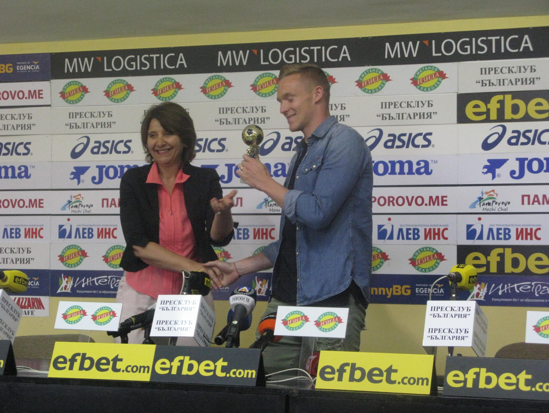 """Роман Прохазка: """"Надявам се, че Левски ще е конкурентен на Лудогорец"""""""