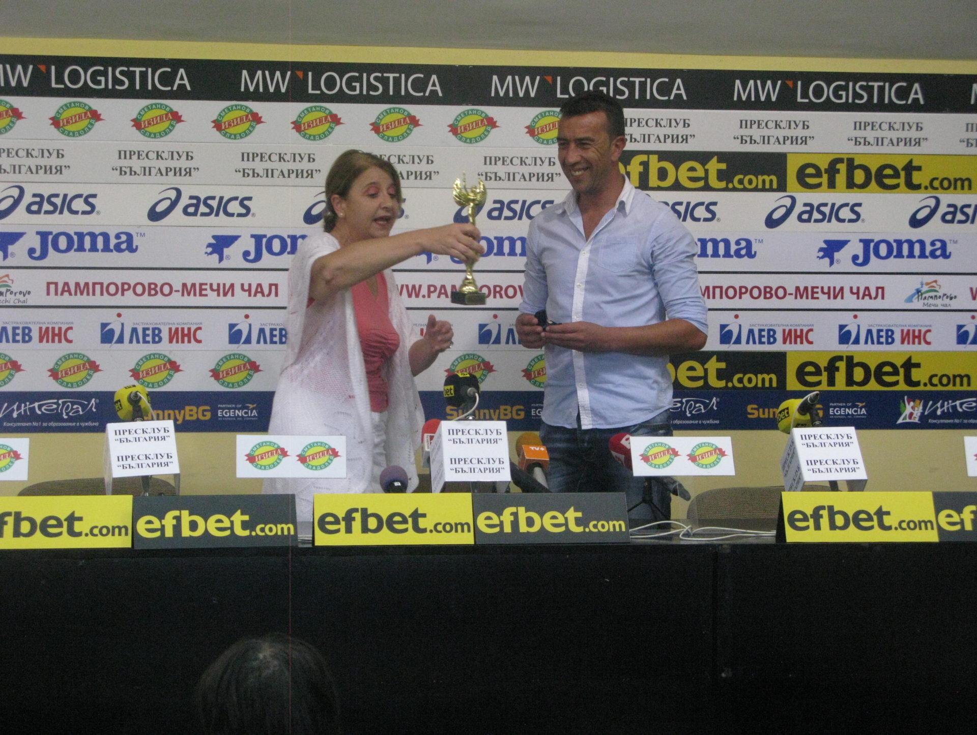 """Георги Петков: """"Защитавам цветовете на Славия и ще помагам колкото мога"""""""