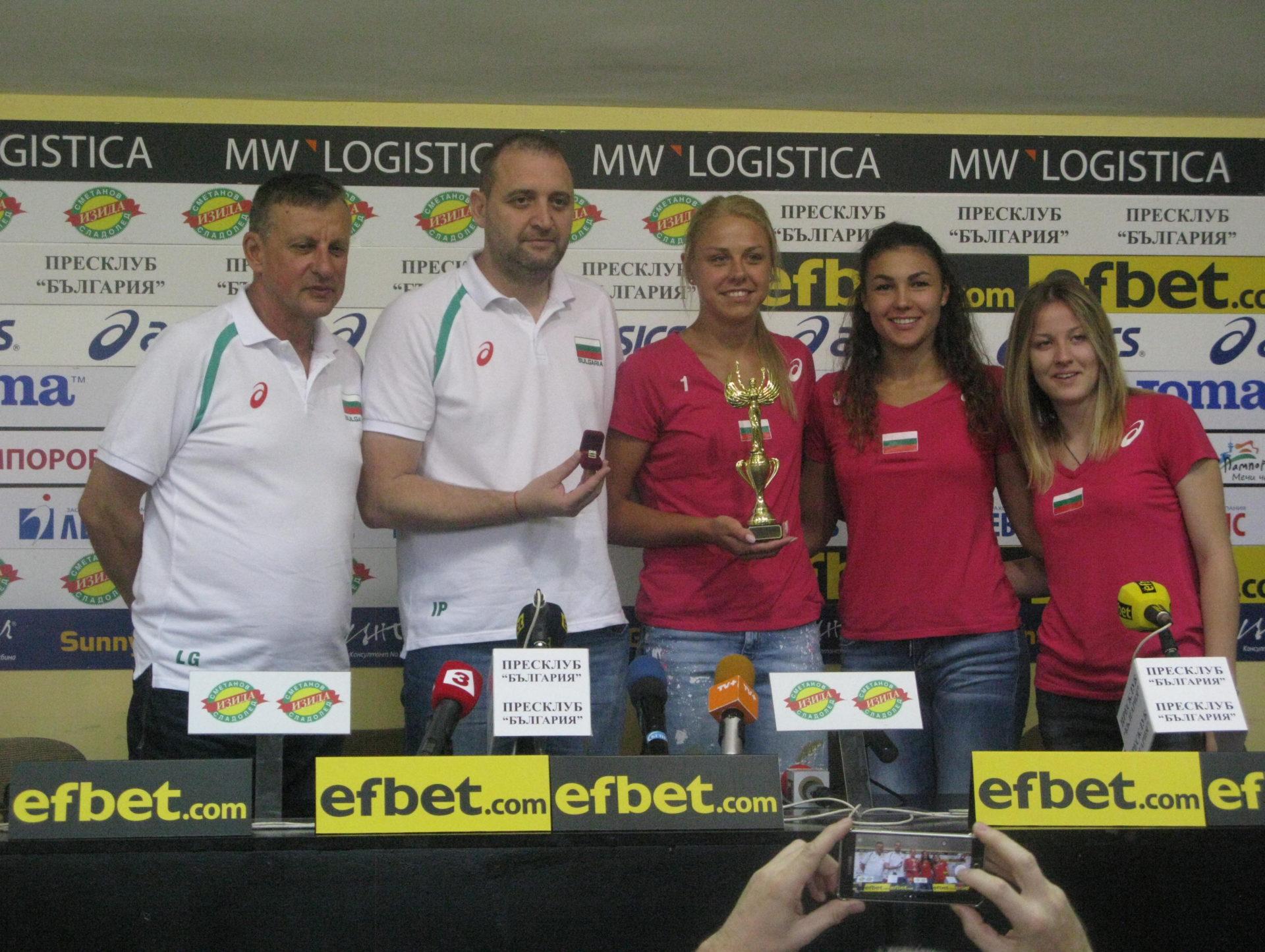 Волейболистките на България с 12-а Купа на победата за най-добър отбор
