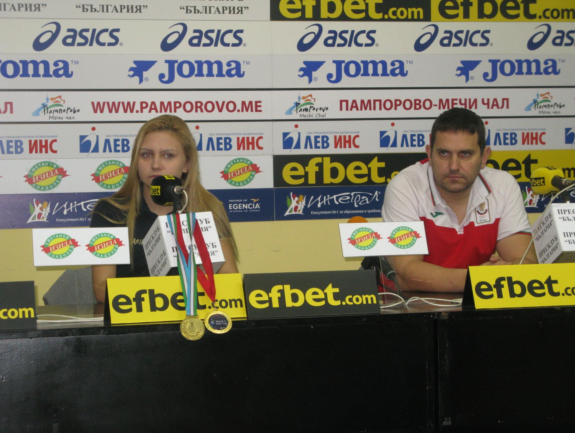 Ивайло Воденов: Надявам се Йоана Илиева да спечели Световната купа за жени до 20 години