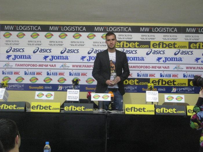 """Антонио Вутов: Нашата цел е да играем в Лига Европа"""""""