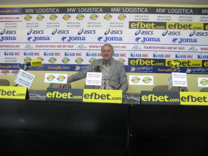 """Наставникът на """"Царско село"""" Никола Спасов: """"Длъжни сме да влезем в Първа Лига"""""""