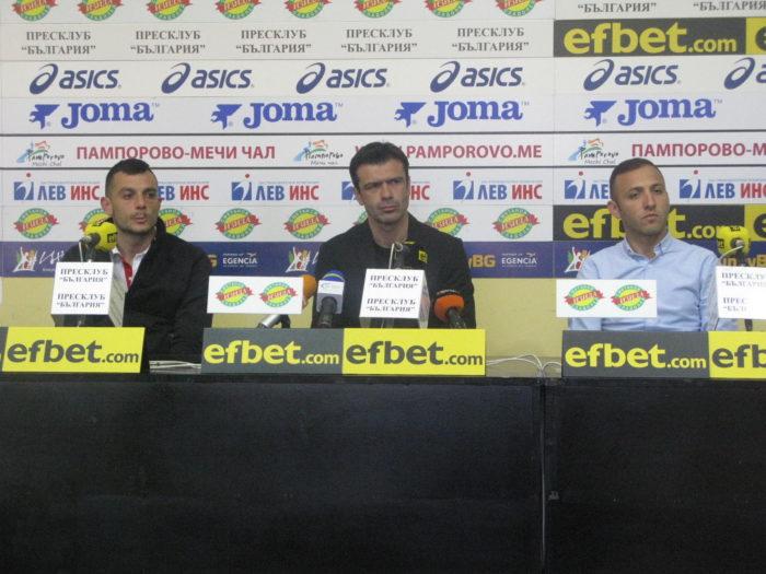 Росен Кирилов: Целта е Витоша да завърши на седмо или осмо място в Първа лига