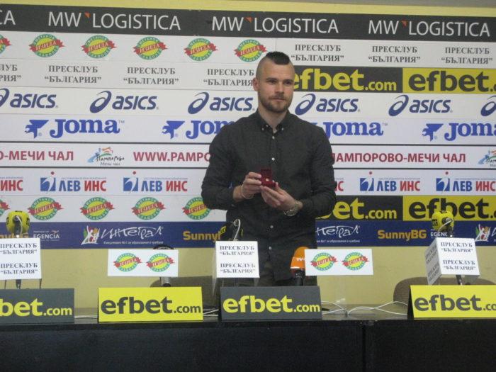 Радослав Кирилов: Националният ни отбор има потенциал