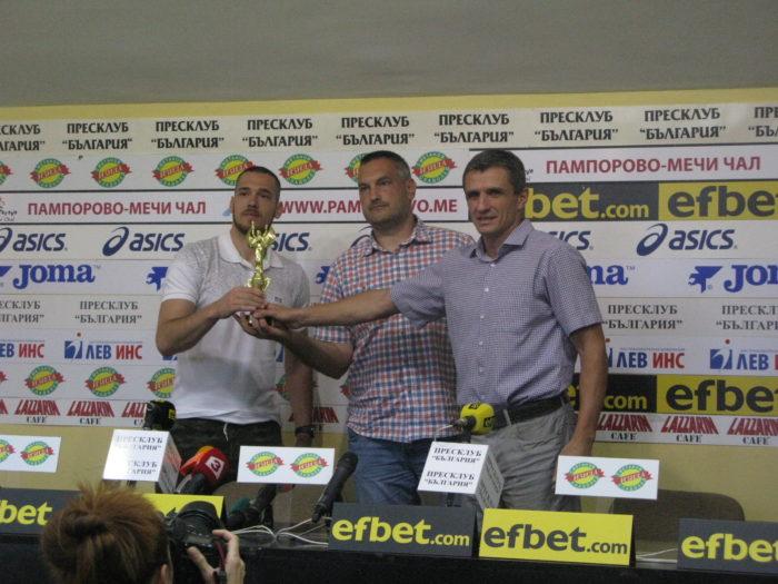 Целта на Балкан /Ботевград/ е влизане в групите на Шампионска лига