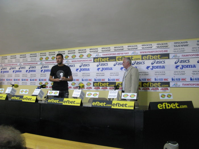 Даниел Младенов: Нашата цел e да избегнем първо баражите за оставане в efbet лига