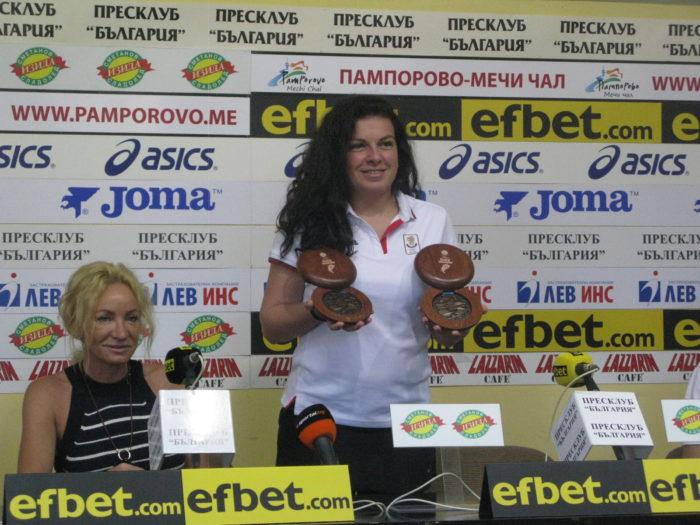 """Антоанета Бонева: """"Не медалите, да вляза във финалите беше целта ми"""""""