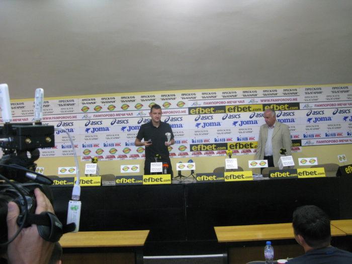 Тодор Неделев: Надявам се през новия сезон да спечелим Купата на България