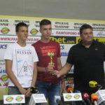 Европейските вицешампиони по волейбол с първа Купа на победата  за Отбор на месеца, селекционерът Мартин Стоев за шести път № 1