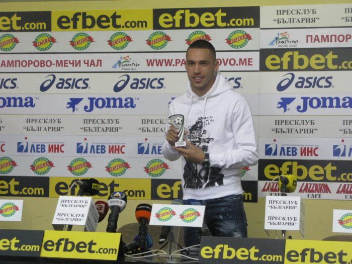 """Футболистът на 10-и кръг Станислав Иванов: """"Левски е велик отбор!  Не се замайвам от успеха."""""""