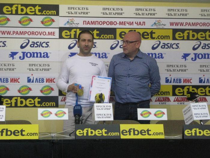 """Европейският шампион по спортна стрелба Самуил Донков: """"Догодина ще се боря за олимпийска квота"""""""