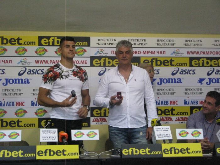 Баща и син Кодинови с първи отличия за треньор и спортист на месеца