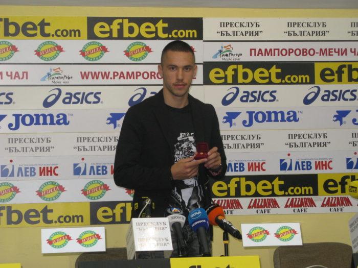 """Футболист №1 на  м.септември Станислав Иванов: """"Физически трябва да подобря играта си!"""""""