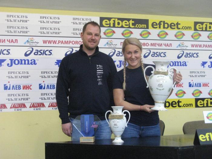 """Трикратната рали шампионка на Европа Екатерина Стратиева:""""Догодина ще се опитам да се доближа до мъжете и да съм в топ 5 при автомобилите с предно предаване"""""""