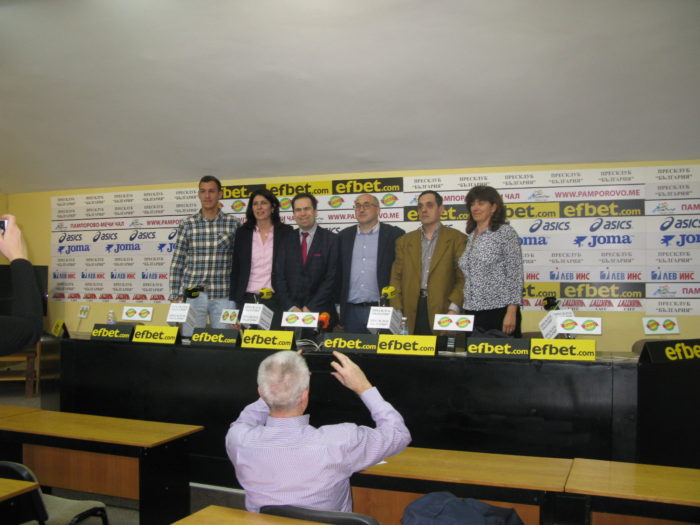 """Стартира кампанията """"България стреля към звездите"""" в рамките на Европейската баскетболна седмица на Спешъл Олимпикс"""