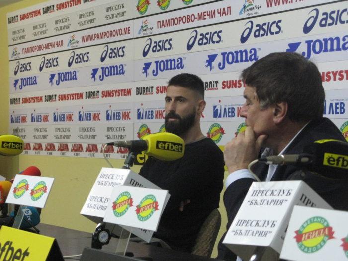 Димитър Илиев: Очаквам да победим Левски и Локомотив Пд  да зимува на второ място в efbet лига