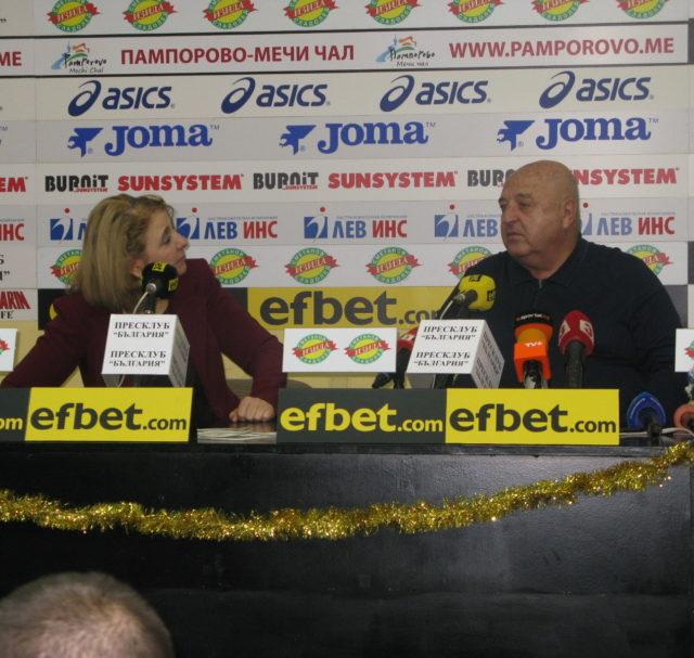 """Венцеслав Стефанов: """"Ще помагам на българския футбол и на Славия, докато мога"""""""