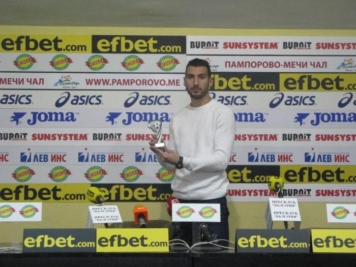 Димитър Велковски/Славия/:Целта ни е да играем в евротурнирите