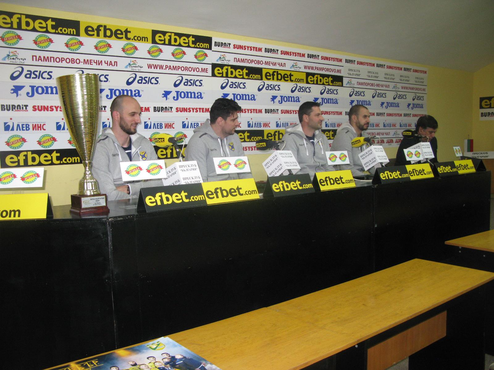 След втората Купа на България: ВК Хебър Пазарджик гледа вече към шампионската титла.