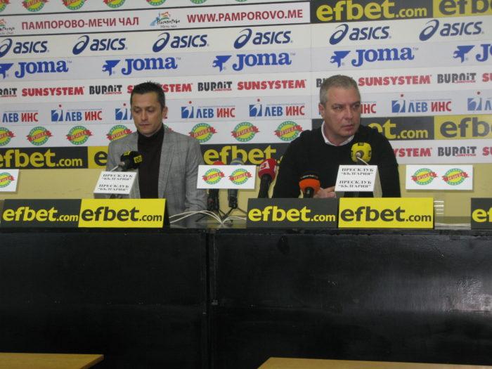 Христо Янев и Александър Станков преди вечното дерби: В мачовете между ЦСКА и Левски  винаги има  огромен  заряд