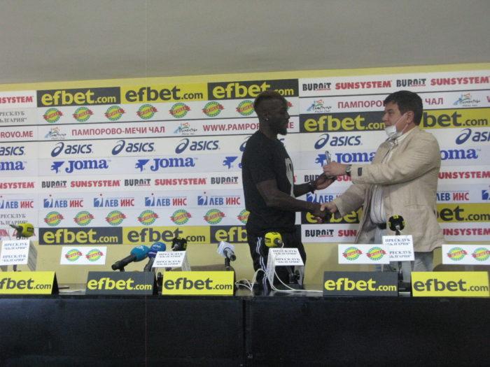 Али Соу с трета статуетка за футболист №1 на кръга