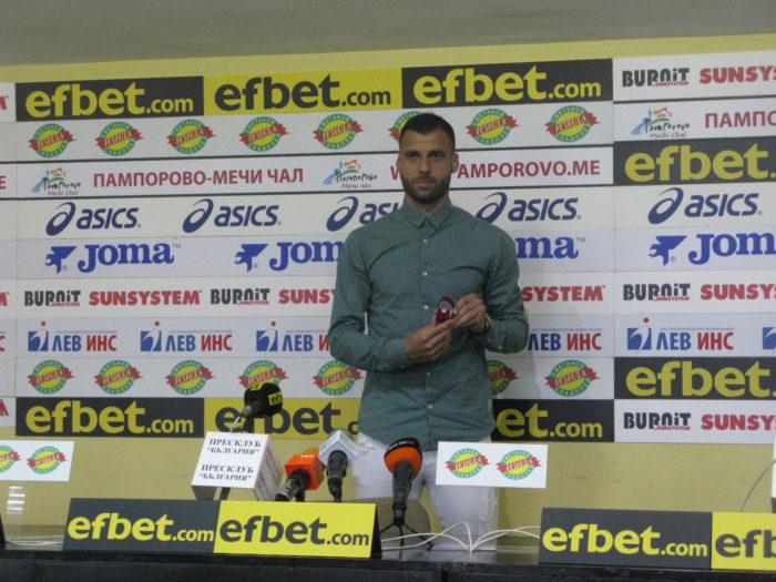 Футболистът на февруари Ивайло Димитров: Мисля, че можем да се преборим за второто място