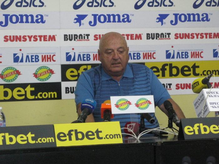 Президентът на Славия Венцеслав Стефанов: Трябва да се даде шанс на българските футболисти. Без българи няма да повторим чудесата от 1994.