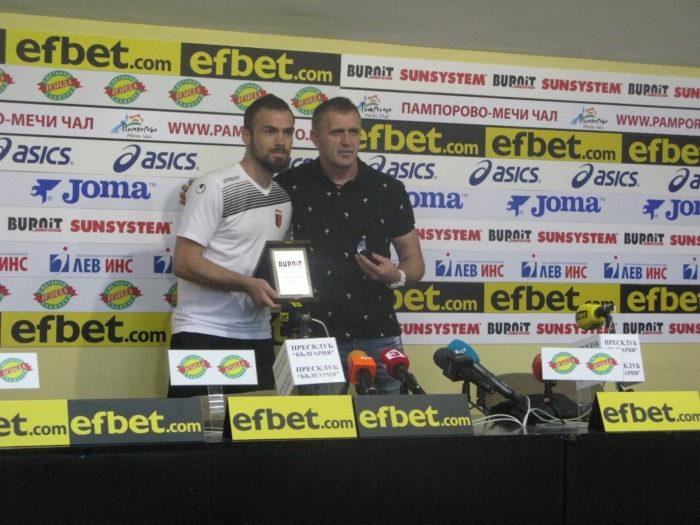 Локомотив Пловдив и Бруно Акрапович отново са отбор и треньор №1 на месеца