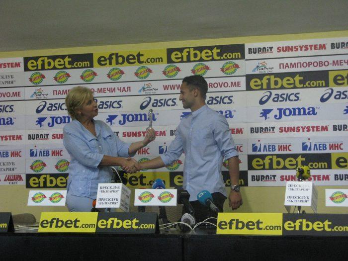 Борислав Цонев е №1 на петия кръг