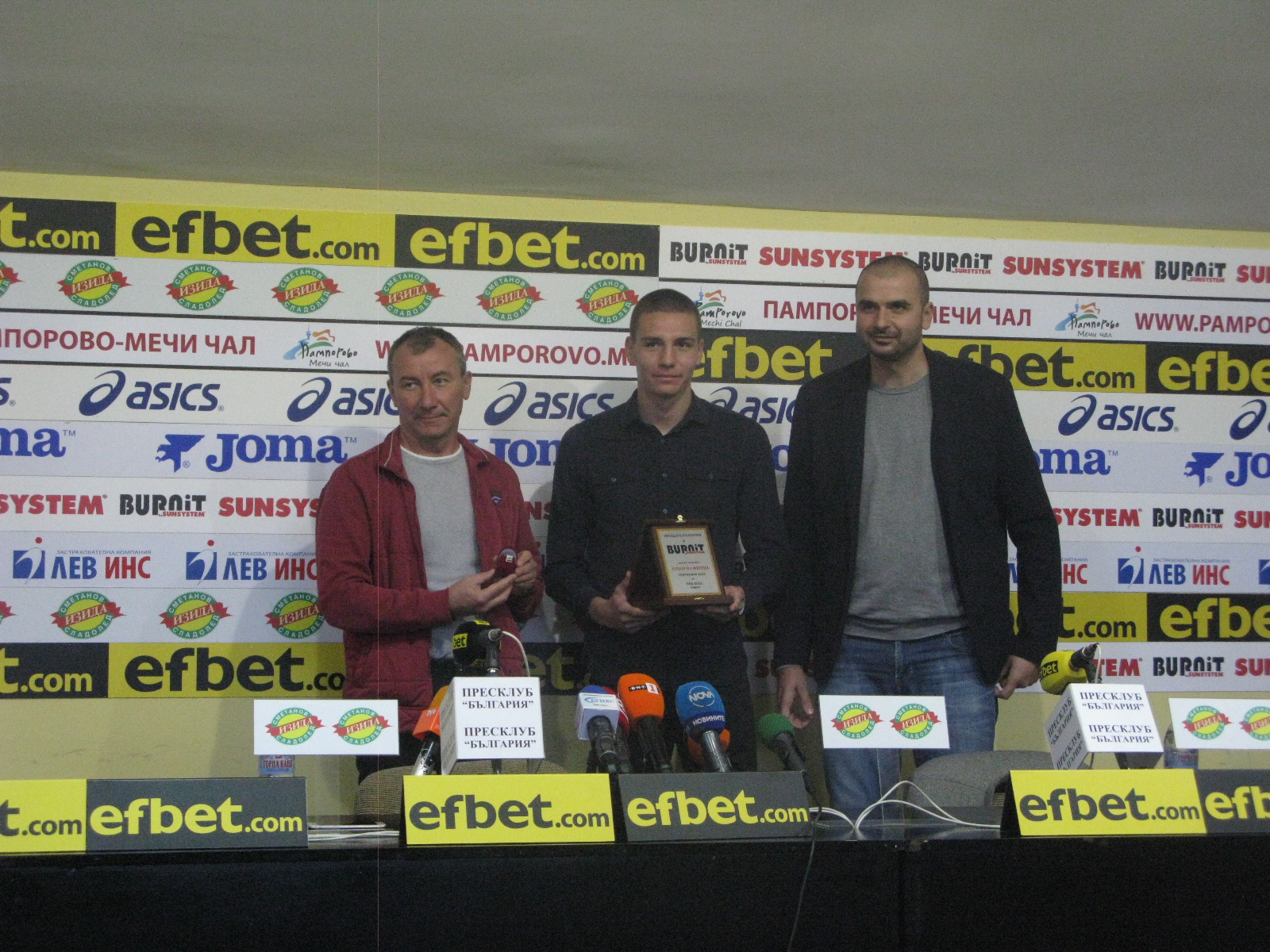 ПФК ЦСКА и Стамен Белчев са №1 за септември
