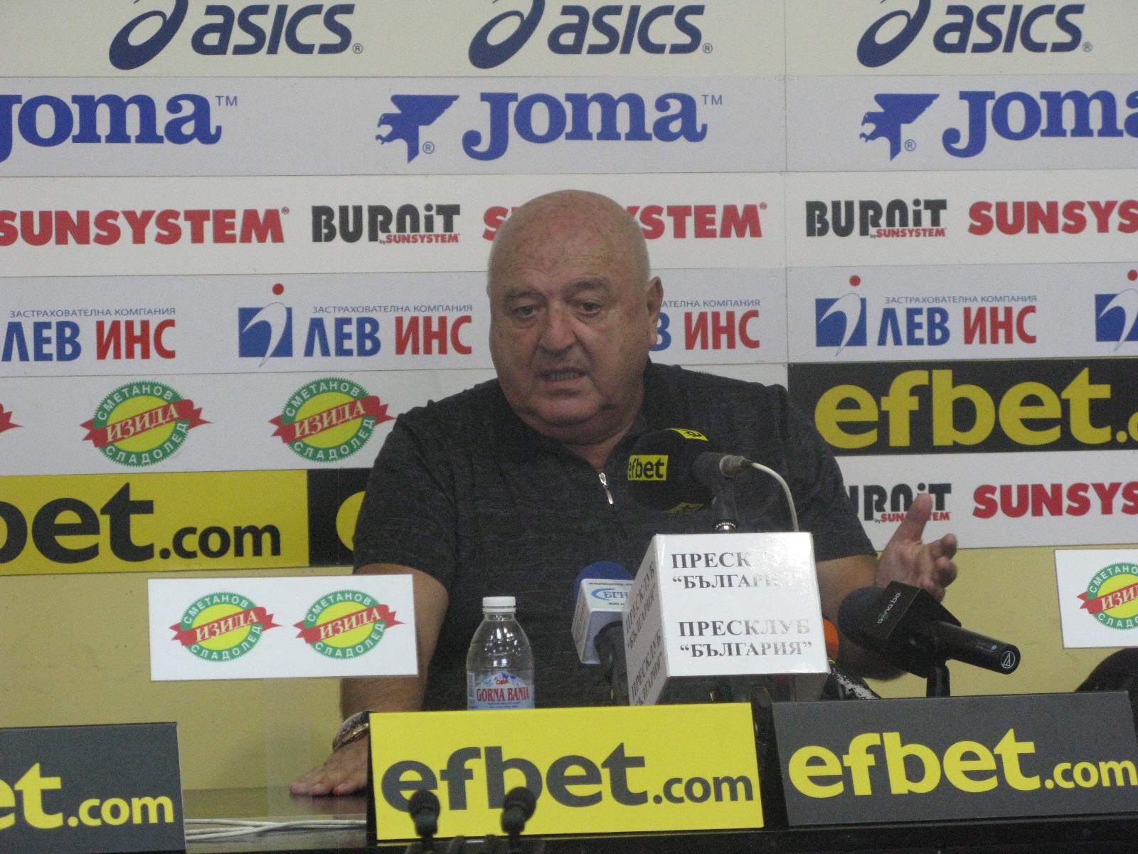 """Венцеслав Стефанов: """"Трябва да излезем от тази дупка, в която сме в момента. Това може да се случи, само ако всички се стараем да го направим"""""""