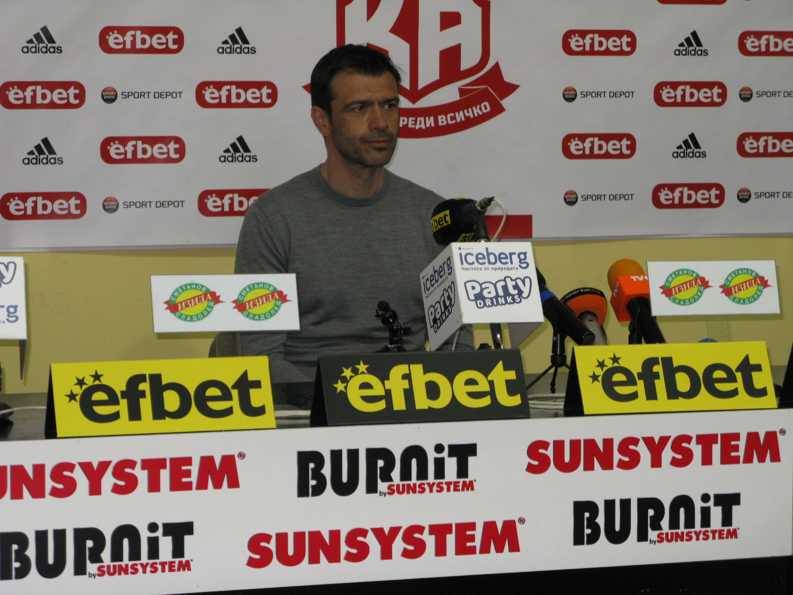 Росен Кирилов: Мачът със Славия ще бъде много оспорван