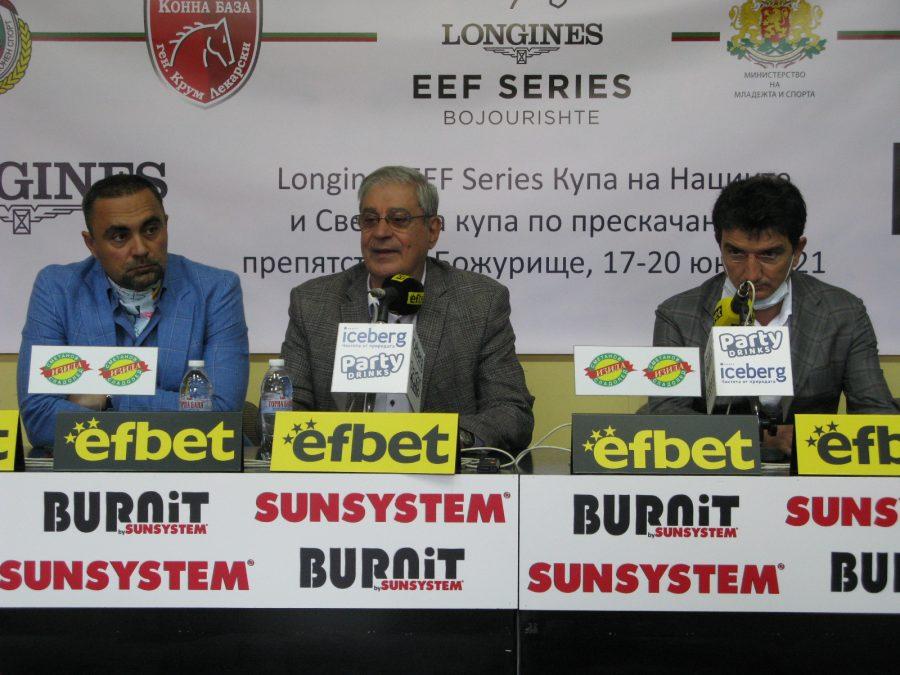 Националният отбор на България по конен  спорт с амбиции за първото място в Купата на нациите