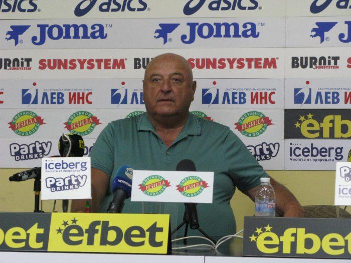 Венцеслав Стефанов: Убеден съм, че Славия ще се представи добре в новия шампионат