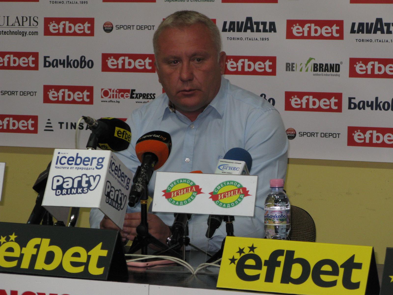 Николай Киров: Важно е да постигаме добри резултати и да подобрим самочувствието на футболистите